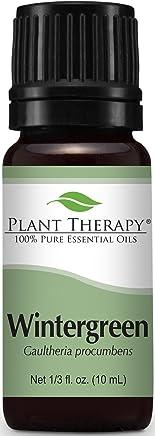 Plant Therapy Wintergreen Essential Oil 10 mL (1/3 oz) 100% Pure, Undiluted, Therapeutic Grade