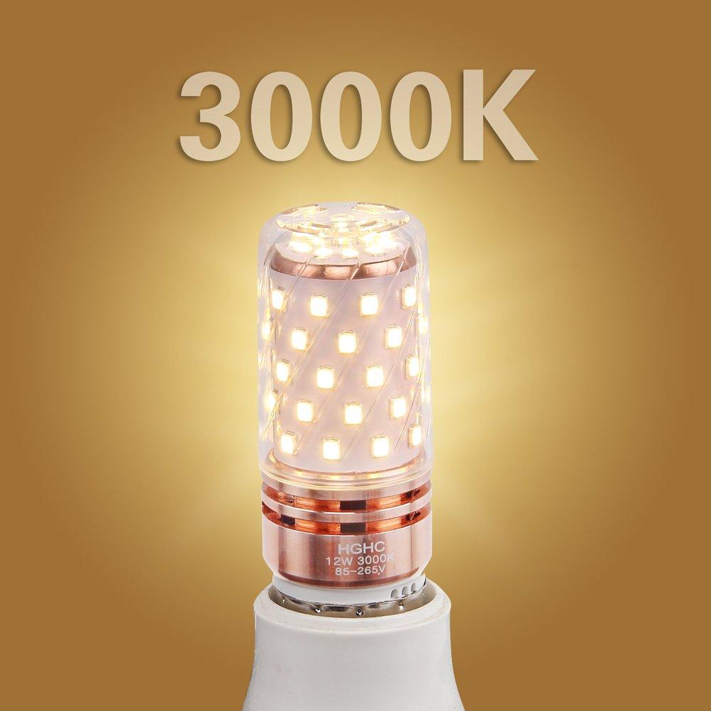 E27 LED Maíz Bombillas 12W AC85-265V 1000LM, 100W incandescente ...