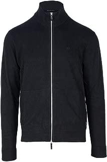 Luxury Fashion | Armani Exchange Mens 8NZE73ZM8BZBLACK Black Cardigan | Season Permanent