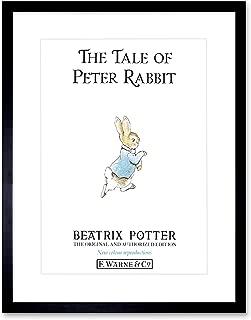 Helen Beatrix Potter The Tale of Peter Rabbit Cover Framed Art Print F12X8508