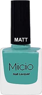 MICIO Matte Nail Lacquer 8ml - (Aquatic Teal)