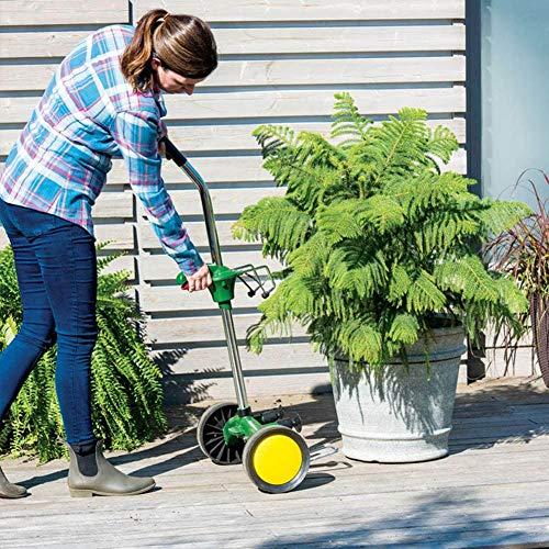 Gartentopf-Mover mit Verstellbarer Griff, Hochleistungsanlage Dolly Caddy mit robusten flachfreien Rädern und Greifsauger