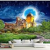 ZLYYH 3D Wallpaper Wandbild,Fantasy Schloss Schöne