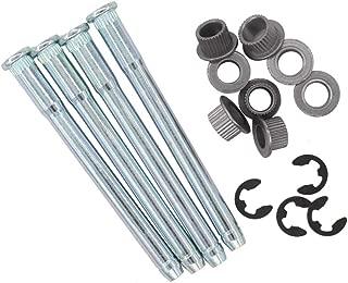 XtremeAmazing Door Hinge Pins Kit 2 Door 4 Pin for 1994-2004 Chevy S10 & GMC S15