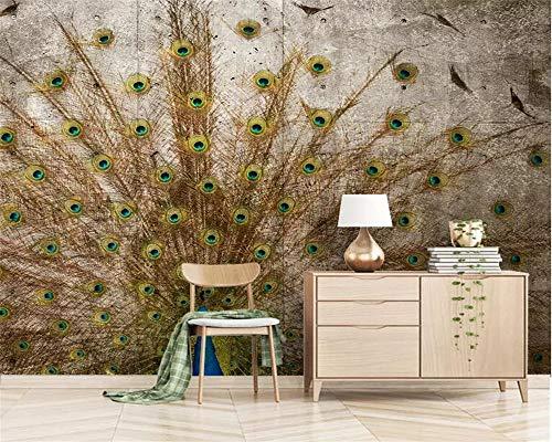 Behang muurstickers op maat behang 3D-scherm creatieve tv achtergrond muur woonkamer slaapkamer 430 * 300cm