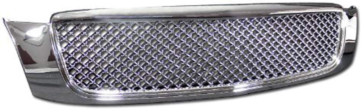 HS Power Chrome Front Grill High quality Luxur 2000-2005 5% OFF for Deville Cadillac