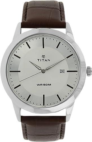 Titan Autumn-Winter 19 Analog Silver Dial Men's Watch NM1584SL03/NN1584SL03