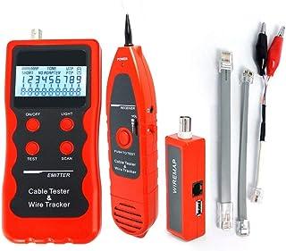 Red Ethernet Teléfono Cable Cable Probador Verificador, Caza/Clasificación/Estado Del Circuito/Verificación De Fallas 5E 6E LAN Coaxial BNC USB 1394 Línea RJ45 RJ11 STP UTP