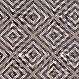 Teppich Wölkchen Outdoor-Teppiche für Draußen   Balkon Terrasse Garten Küche   Wetterfest Wasserfest und UV-Beständig mit ÖKO-TEX 100   Jeans Blau - Raute - 120 x 170 cm - 4