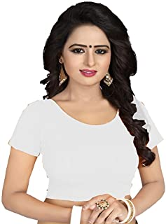 c78f1a7b740184 Amazon.in: Whites - Blouses / Ethnic Wear: Clothing & Accessories