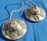 One World is Enough Tingsha tibétain Huit Signes auspicieux (Cloches de...