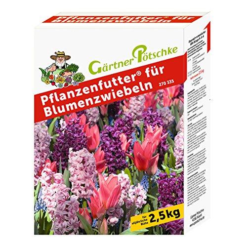 Pflanzenfutter für Blumenzwiebeln, 2,5 kg