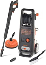 Black+Decker BXPW1800XE High Pressure Washer with Patio Cleaner and Fixed Brush (1800 W, 135 bar, 440 l/h)