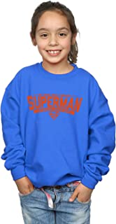 DC Comics Girls Superman My Hero Sweatshirt