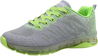Womens Ladies Trainers Sale Flying Woven Shoes Air Cushion Sneakers Student Net Running Shoes