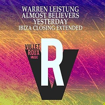 Yesterday (Ibiza Closing Extended)