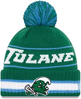 81bdd851eb5 New Era Tulane Green Wave College Vintage Select Knit Pom Beanie - Green