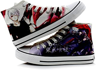 Telacos Tokyo Ghoul Kaneki Ken Cosplay Shoes Canvas Shoes Sneakers Colourful 3