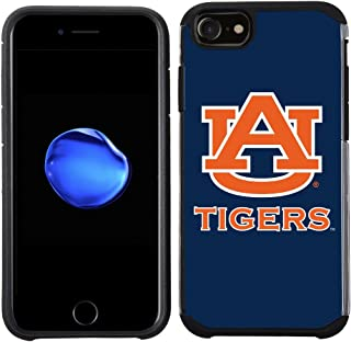 Prime Brands Group Textured Team Color Cell Phone Case for Apple iPhone 8/7/6S/6 - NCAA Licensed Auburn University Tigers