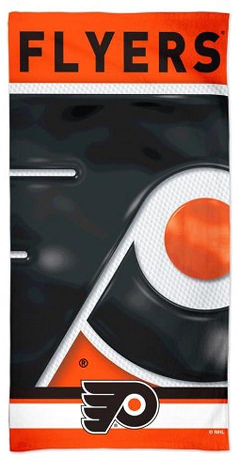 昇進ポップエネルギーWinCraft Philadelphia FlyersビーチタオルwithプレミアムSpectraグラフィックス30?x 60?cm