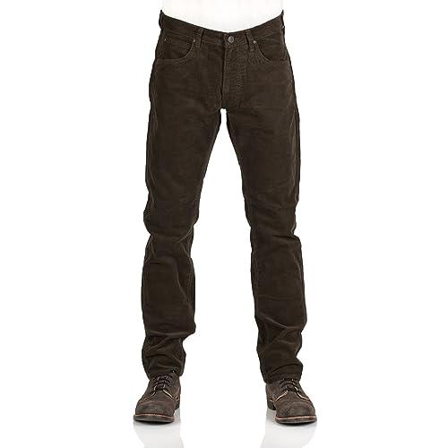 4b6104aa Lee Men's Daren Stretch Corduroy Jeans Green