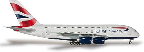 Herpa 556040 - British Airways Airbus A380