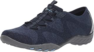 Skechers Women's Relaxed Fit Breathe Easy - Opportuknity Slip On Sneaker