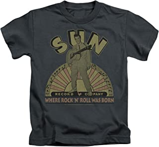 Sun Records Media Company Record Label Original Son Little Boys T-Shirt Tee
