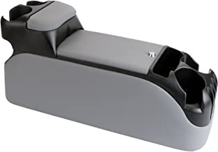 TSI Products 54415 Clutter Catcher Grey Upholstered OEM Look Minivan Console