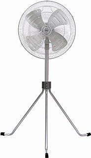広電 工業扇 三脚型 50cm アルミ羽根 首振り 3段階風量 羽根簡単取付 高さ120~144cm CFF501TMA