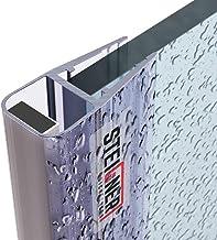 STEIGNER magnetische douche-afdichting, 186cm, glasdikte 6/7/ 8mm, vervangende afdichting voor douchedeur, UKM02, 1 stuk