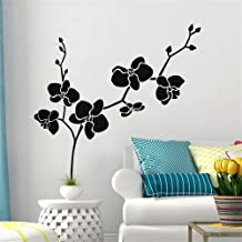 apolxs Wall Decal Sticker Art Mural Home Dcor Quote Dancing Orchids for Living Room Bedroom