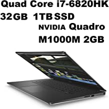 Dell Precision 5000 M5510 Mobile Workstation: Intel Quad Core i7-6820HK 2.7GHz | 1TB SSD | 32GB | 15.6in (1920x1080) FHD | NVIDIA Quadro M1000M 2GB Graphics - Windows 10 Pro (Renewed)