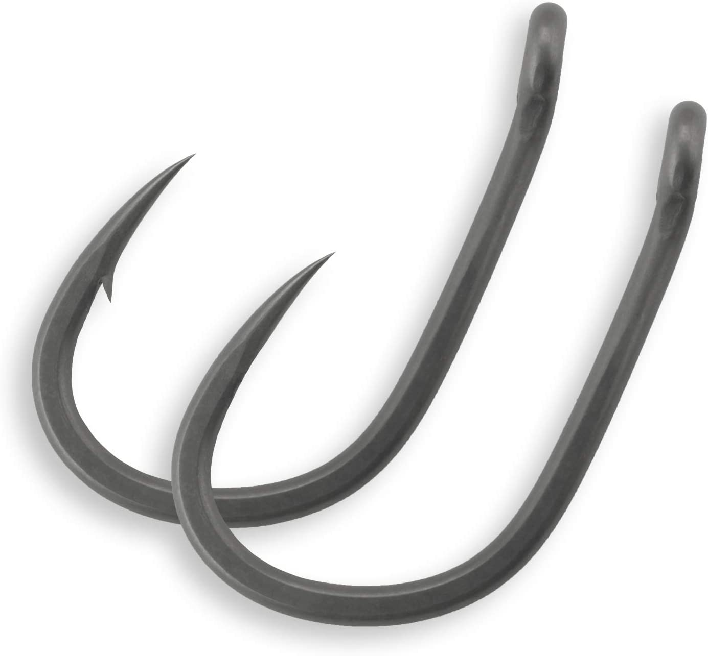Details about  /50 x Curve Shank Carp Hooks Micro Barbed Size 6 /& 4 Japanese Steel