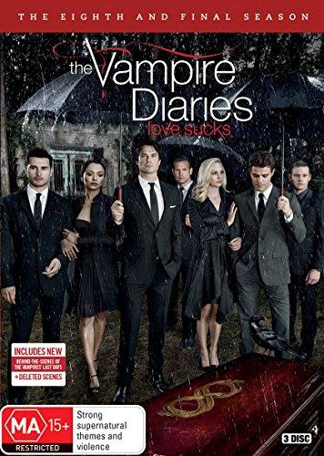 The Vampire Diaries: Series 8   3 Discs   NON-USA Format   PAL   Region 4 Import - Australia