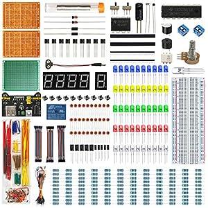 Inthory Kit Mejorado de Componentes Electrónicos con tutoriales –