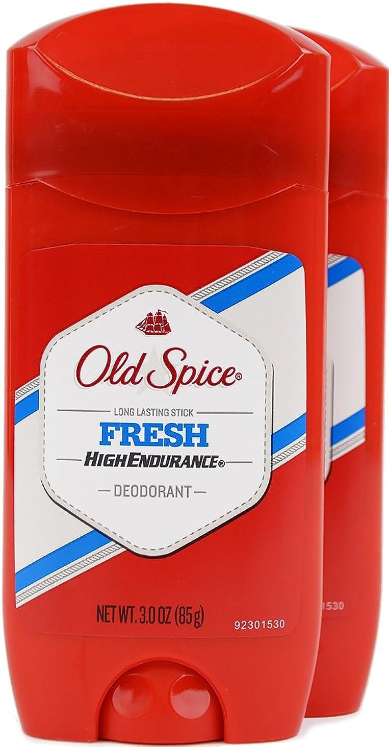 呪いくまその間オールドスパイス(Old Spice) 固形デオドラント スティック フレッシュ 85g×2個[並行輸入品]