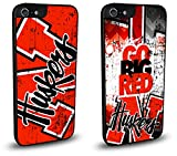 Nebraska Cornhuskers Cell Phone Hard Case TWO PACK for iPhone 7 Plus