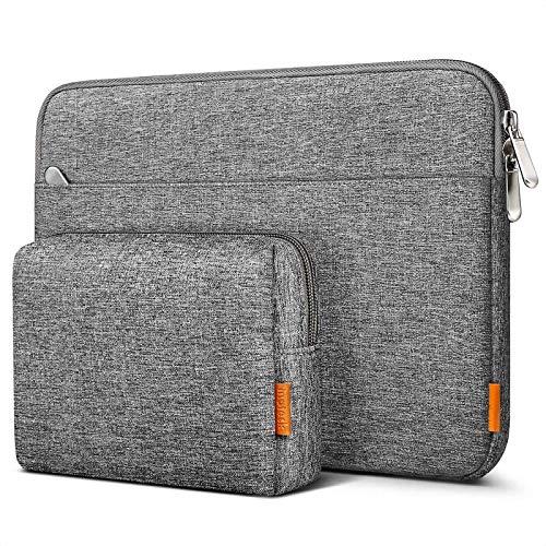 Inateck Tasche Kompatibel mit 10,2 Zoll iPad 8 2020/11 Zoll iPad Pro M1 2021/2020/10,9 iPad Air 4 2020/10,5 Zoll iPad Air 3 2019/10,5 Zoll iPad Pro/9,7 Zoll iPad Pro/Surface Go/Galaxy Tab10,1