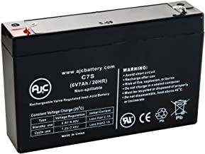 BB BP7-6, BP76 6V 7Ah UPS Battery - This is an AJC Brand Replacement