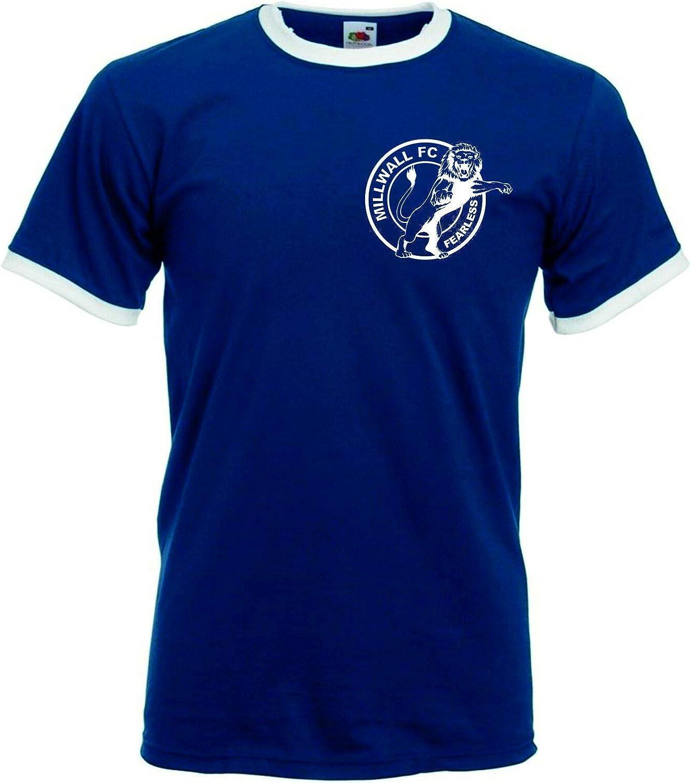 Millwall Fearless FC Supporters Club Retro Football Club T-Shirt WE Fear NO FOE