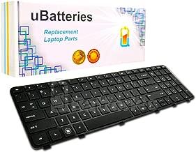 UBatteries Laptop Keyboard HP Pavilion Envy dv6 dv6t dv6z dv6-7000 dv6T-7000 dv6Z-7000 Fits Part# 570321-001 682082-001 670321-001 697454-001 682081-001 LKB-HC23BF - (Black with Frame)
