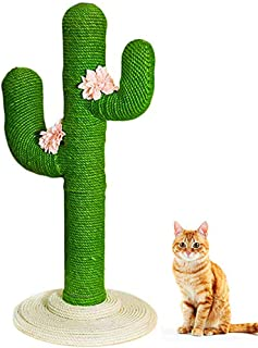 Cat Climbing Frame - Vertical Cat Jumping Cat Cat Scratch Board Cat Educational Toys, Fashion Cactus Shape Design, Anti-Slip, Suitable for All Cats