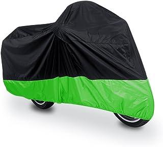 XL 180T Regenstaubschutz Schwarz Grün Roller Motorradabdeckung 96inch für Bmw