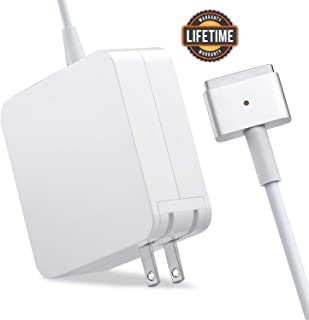 Mac Book Air Charger, Great Replacement 45W T-Tip Power Adapter Charger for Mac Book Air 11-inch and 13-inch (Mid 2012 or Later)(45T)