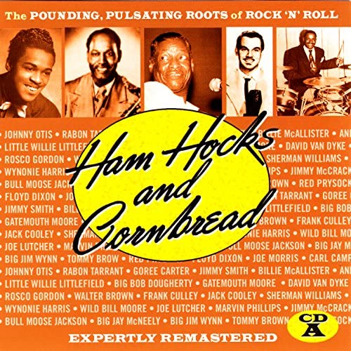 """Little Willie Littlefield, Johnny Otis Orchestra, Robin Tarrant W/Jack McVea & His All Stars, Goree Carter, Big Bob Dougherty, Gatemouth Moore, Jimmy Smith, Andrew Tibbs W/Dave Young's Orchestra, Cherokee Conyer's Orchestra With David Van Dyke, Rosco Gordon, Walter Brown, Billie McAllister, Frank """"Floorshow"""" Culley, Jack Cooley, Sherman Williams & His Orchestra, Clifford Bivens, Joe Lutcher & His Society Cats, Wynonie Harris W/Jack McVea & His All Stars, Wild Bill Moore, Marvin Phillips & His Men From Mars, Jimmy Mccracklin, Bull Moose Jackson, Big Jay McNeely, Big Jim Wynn, Tommy Brown, Red Prysock & His House Rockers, Floyd Dixon, Joe Morris & Carl Campbell"""