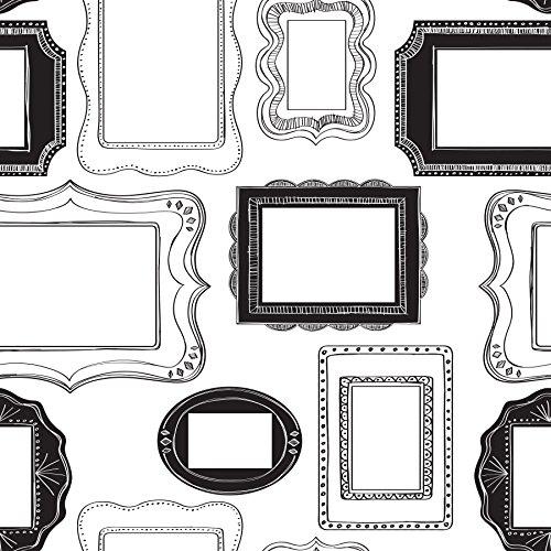 NuWallpaper Photo OPP Frames Peel en Stick Behang