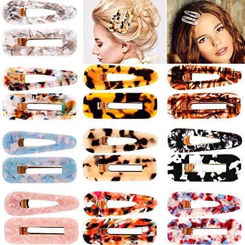 Pinces à Cheveux Épingles à Cheveux Décoratives pour Filles Dames Femmes, Épingles à Cheveux de Mariage (20 Pièces, Couleur 3)