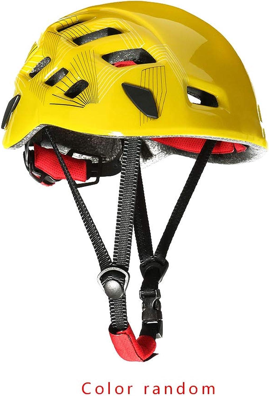 Outdoor Radfahren Schutzhelm Rock Climbing Baum Caving Kayaking Rappel Rettung Hard Hat zufällige Farbe B07PXVCPNT  Online