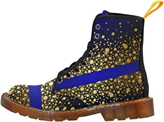Artsadd Fashion Shoes Duck Lace Up Boots for Women